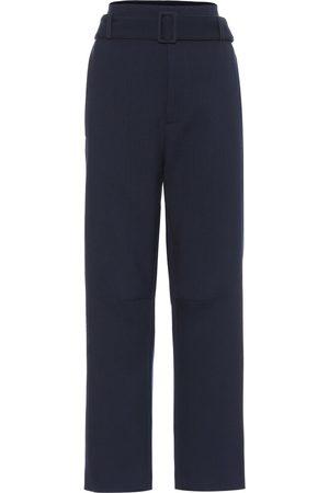 MM6 MAISON MARGIELA Pantalon ample en crêpe de laine mélangée