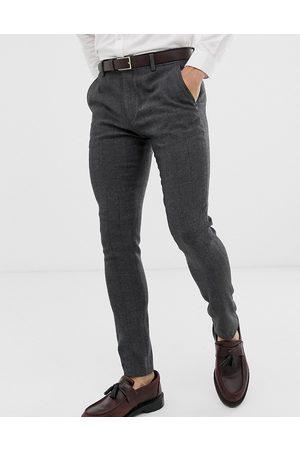 ASOS Wedding - Pantalon de costume ultra skinny motif chevrons