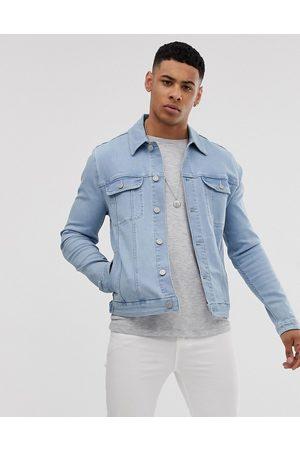 ASOS Veste en jean ajustée style western