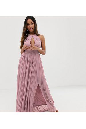 TFNC Exclusivité - Robe longue plissée pour demoiselle d'honneur
