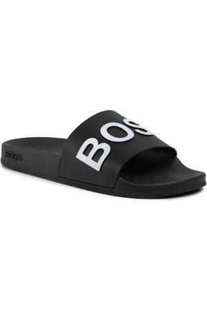 HUGO BOSS Mules / sandales de bain - Bay 50425152 10224455 01 Black 001
