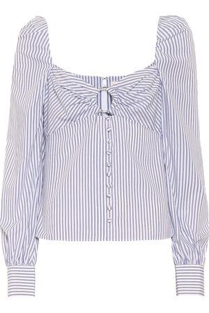 JONATHAN SIMKHAI Femme Tops & T-shirts - Top rayé en coton