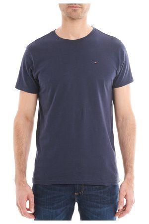 Tommy Hilfiger T-shirt droit en coton uni Ligne Tommy Jeans