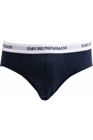 Emporio Armani Homme Boxers - Lot de 2 slips logotypés