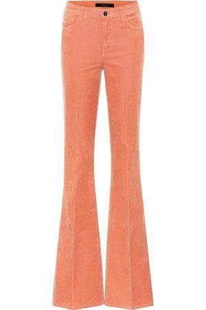 J Brand Pantalon évasé Valentina en velours côtelé