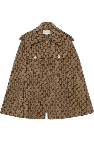 Gucci Cape à motif monogrammé