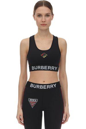 Burberry Femme Sous-vêtements - Jersey Sport Bra W/patches