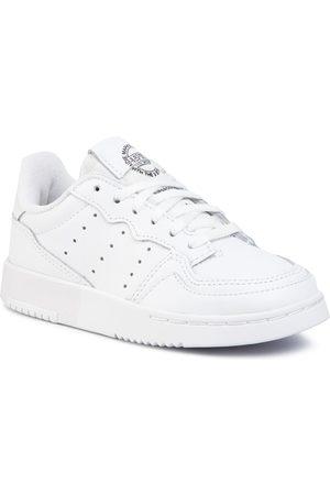 adidas Fille Chaussures à lacets - Chaussures - Supercourt C EG0411 Ftwwht/Ftwwht/Cblack