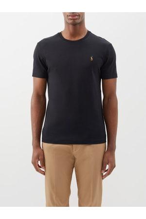 Polo Ralph Lauren T-shirt ajusté en coton à logo brodé