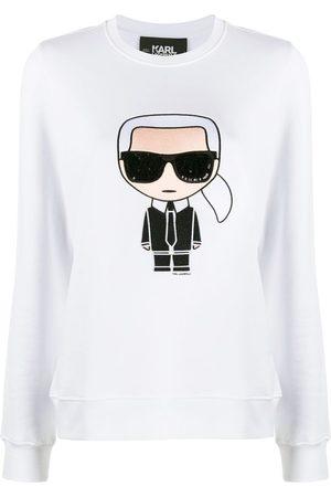 Karl Lagerfeld Top imprimé à manches longues Karl