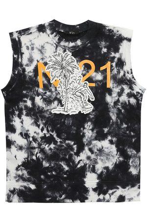 Nº21 T-shirt En Jersey De Coton Imprimé
