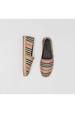 Burberry Espadrilles à rayures iconiques, Size: 39