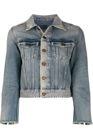 Saint Laurent Stonewashed denim jacket