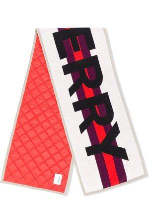 Burberry écharpe à logo contrastant