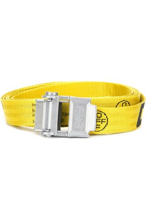 OFF-WHITE 2.0 INDUSTRIAL BELT 40 MM YELLOW BLACK