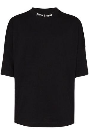 Palm Angels T-shirt à col à logo imprimé