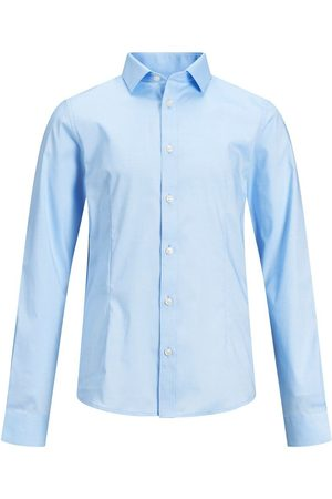 Jack & Jones Garçons Ourlet Arrondi Chemise Men blue