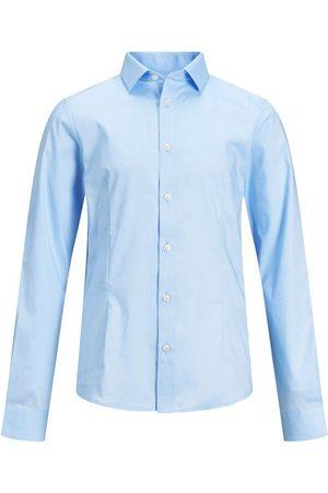 Jack & Jones Homme Chemises - Garçons Ourlet Arrondi Chemise Men blue
