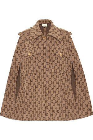 Gucci Cape GG en laine