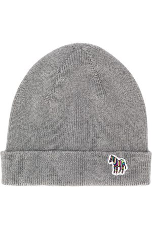Paul Smith Logo beanie hat