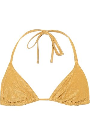 Solid Haut de bikini triangle The Iris