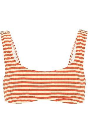 Solid Haut de bikini brassière The Elle