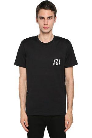 Neil Barrett Homme T-shirts - Cotton Jersey T-shirt W/ Logo Patch