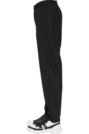 Neil Barrett Homme Pantalons - Pinstripe Stretch Cotton Pants