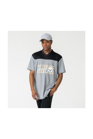 New Era T-Shirt NFL Pittsburgh Steelers Stacked Wordmark Oversized Pour Homme