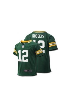 Nike Maillot NFL Aaron Rodgers Greenbay Packers Game Team pour Enfant