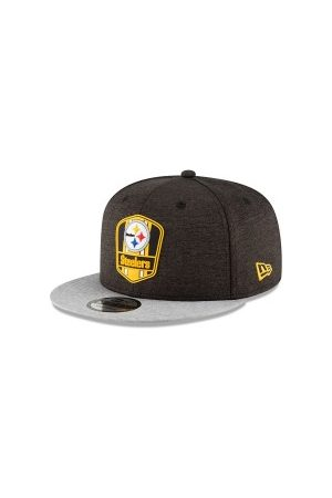 New Era Casquettes - Casquette NFL Pittsburgh Steelers 2018 Sideline Away 9Fifty Snapback