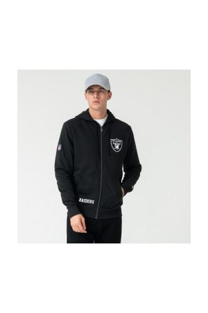 New Era Veste Zippé NFL Oakland Raiders Team Logo pour homme