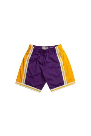 Mitchell & Ness Short NBA Los Angeles Lakers 1984-85 Swingman pour Hommes