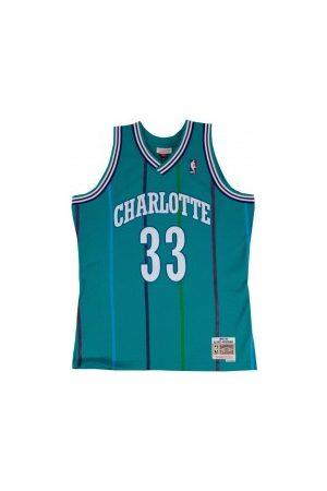 Mitchell & Ness Maillot NBA Alonzo Mourning Charlotte Hornets 1992-93 Hardwood Classic swingman