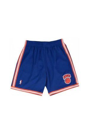 Mitchell & Ness Short NBA New York Knicks 1991-92 Swingman Road pour Homme