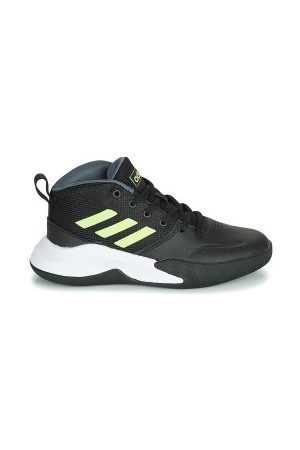 adidas Chaussure de Basketball Ownthegame K Wide Gold Pour Junior