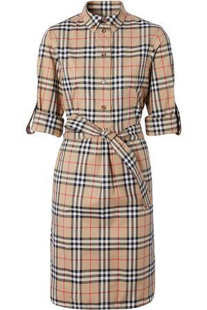 Burberry Robe-chemise Vintage Check