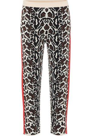 Stella McCartney Pantalon de survêtement en laine mélangée
