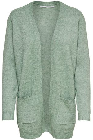Only Open Knitted Cardigan Women Green