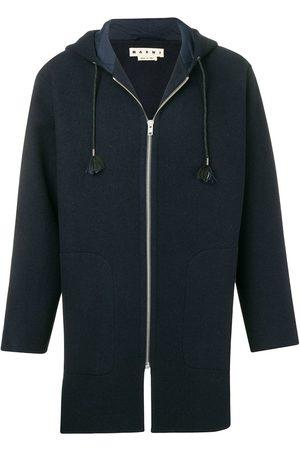 Marni Manteau zippé à capuche