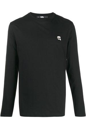 Karl Lagerfeld T-shirt à patch logo Ikonik