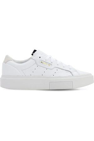 """adidas Sneakers En Cuir """"sleek Super"""""""