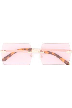 Karen Walker Lunettes de soleil The Bird Pink