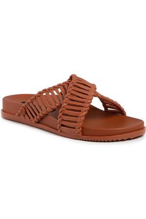 Melissa Femme Mules & Sabots - Mules / sandales de bain - Cosmic II + Salinas Ad 32739 Brown 01459