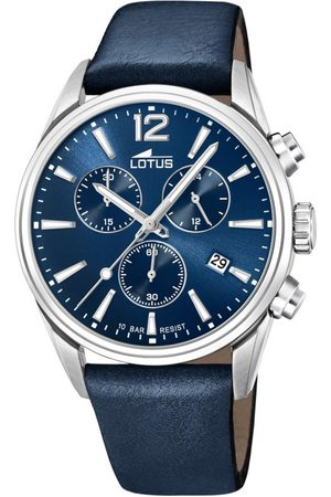 Lotus Montre L18691-1 - CHRONO Dateur,Chronographe Cuir Homme