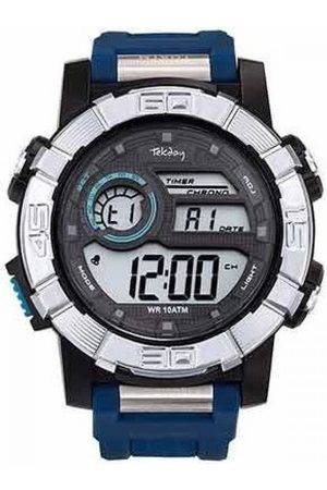 Tekday Montre 655961 - Digitale Multifonctions Silicone Homme