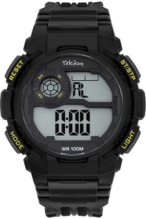 Tekday Montre 655973 - Bracelet Silicone Boitier Silicone Homme
