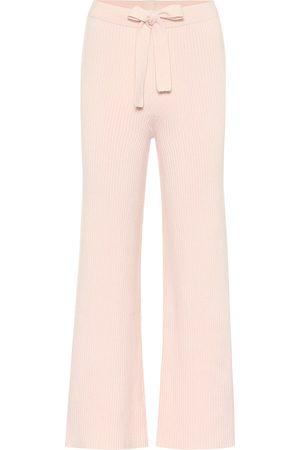 LIVE THE PROCESS Pantalon ample en coton et soie mélangés