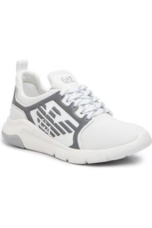 EA7 Sneakers - X8X057 XCC55 00175 White/Silver