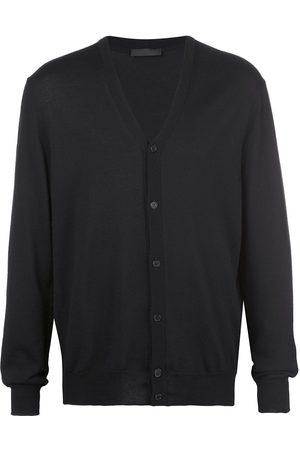WARDROBE.NYC Homme Cardigans - Knitted V-neck cardigan